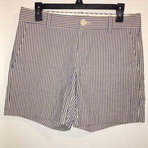 Banana Republic striped shorts size 4